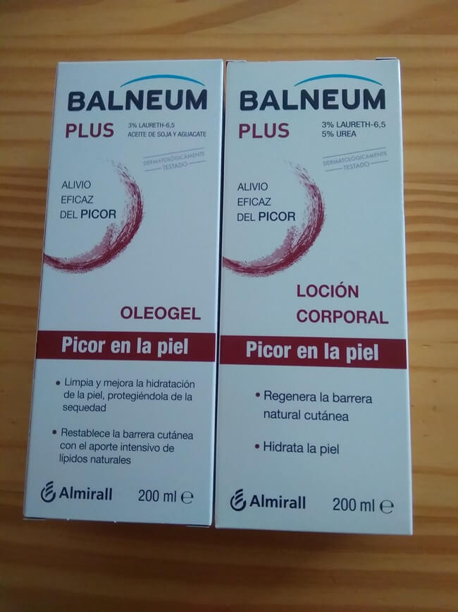 Review de Balneum Plus, alivio eficaz del picor